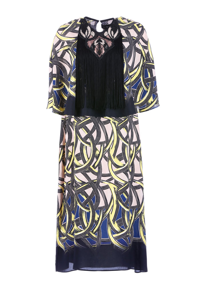 Yigal Azrouel Intertwined Vines Embroidered Dress: $299 (orig. $1190)