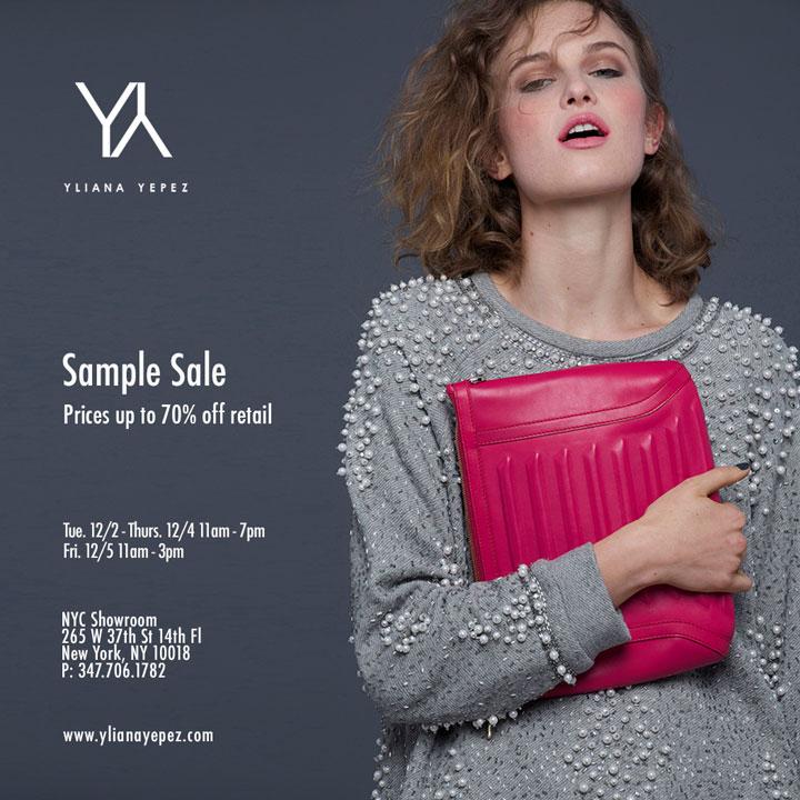 Yliana Yepez Sample Sale