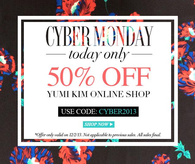 Yumi Kim Cyber Monday Sale