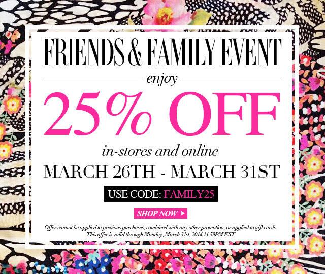 Yumi Kim Clothing New York Friends Amp Family Sale