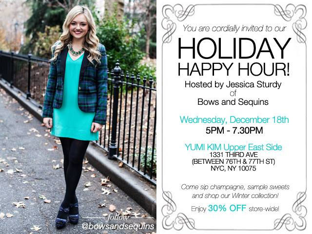 Yumi Kim Holiday Happy Hour