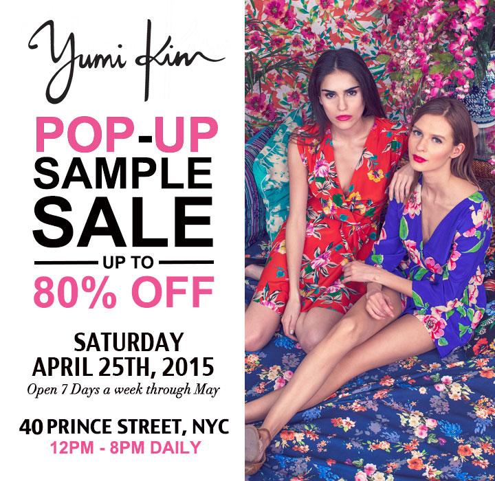 Yumi Kim Pop-up Sample Sale