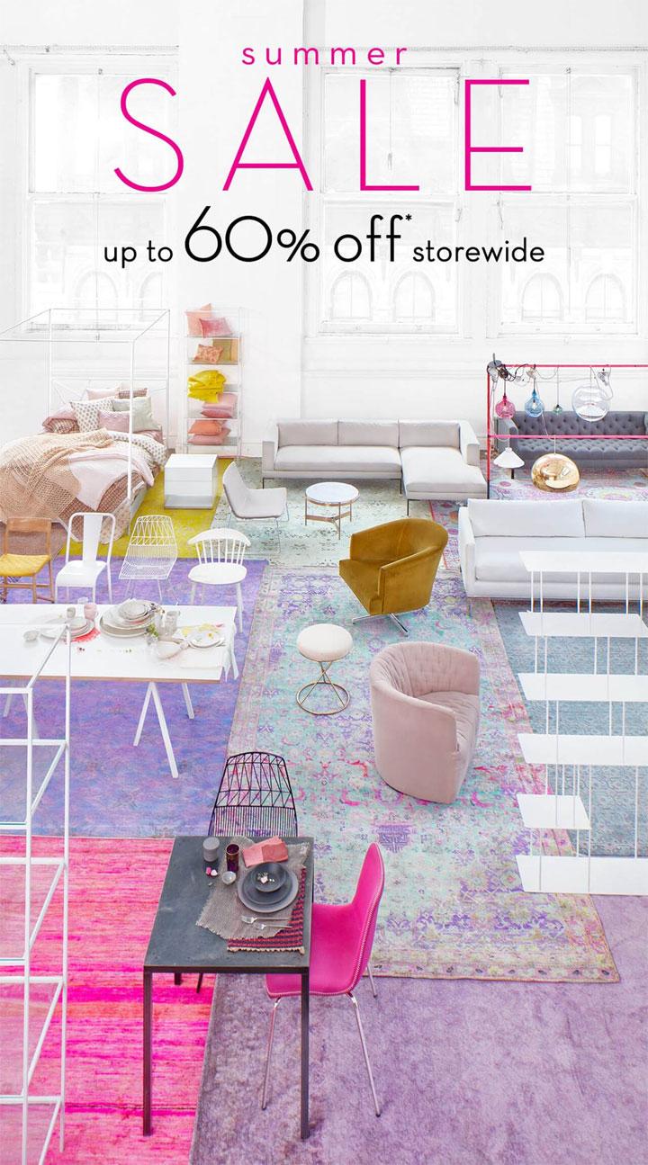 ABC Carpet & Home Summer Retail Sale