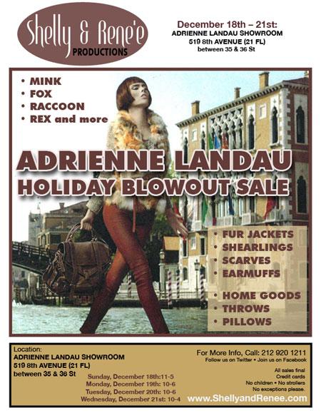 Adrienne Landau Holiday Blowout Sale