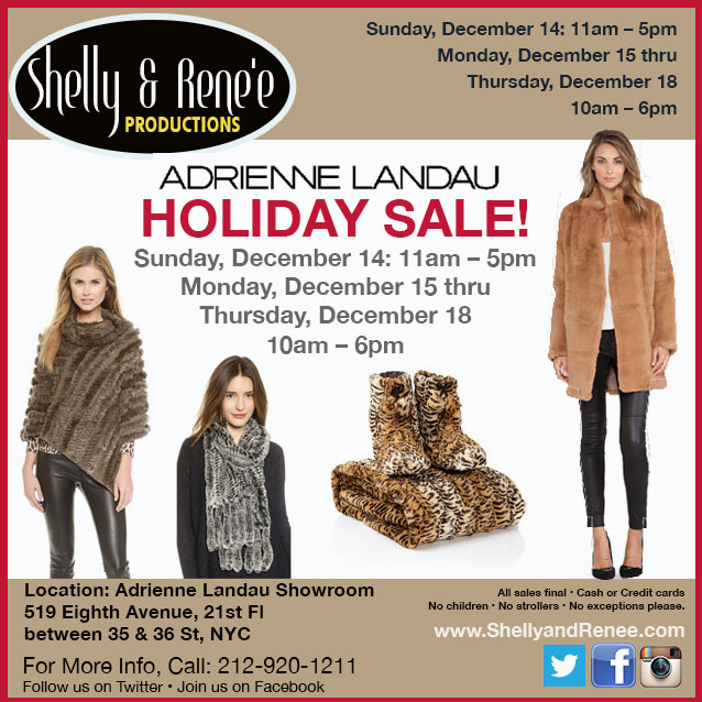 Adrienne Landau Clothing & Accessories New York Fall Sample ...