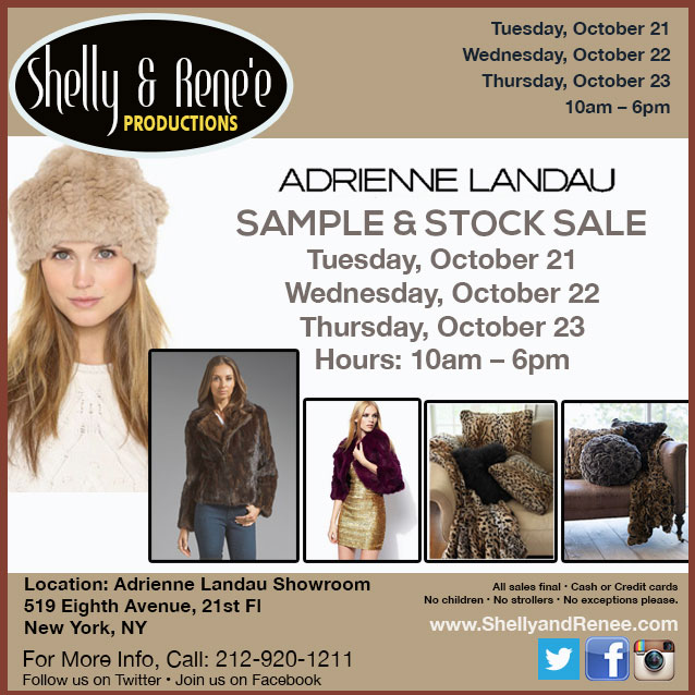 Adrienne Landau Sample Sale