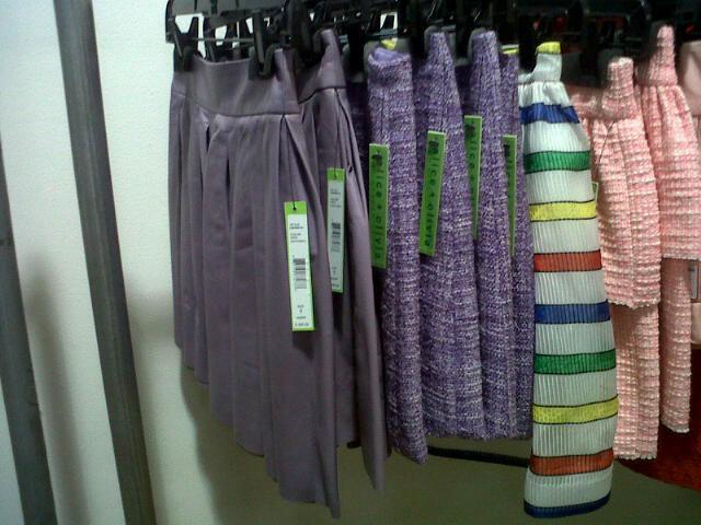 Skirts  at Alice + Olivia Sample Sale