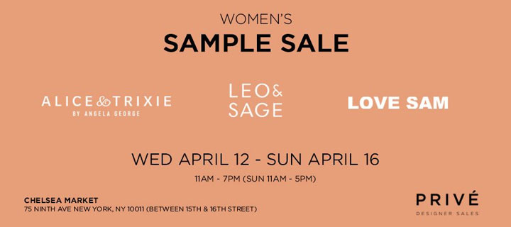 J Brand, Alice & Trixie, & More Sample Sale