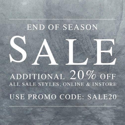 AllSaints End-of-season Sale