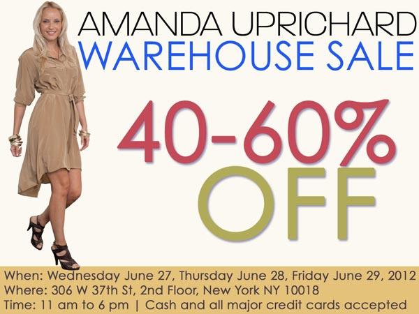 Amanda Uprichard Warehouse Sale