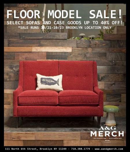 A&G Merch Floor Model Sale