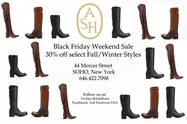 Ash Footwear Black Friday Sale