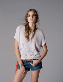 Autumn Cashmere Crochet Top