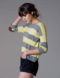 Autumn Cashmere Striped Top