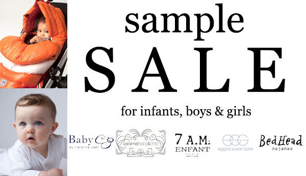 Baby CZ, 7 AM Enfant, & More Sample Sale