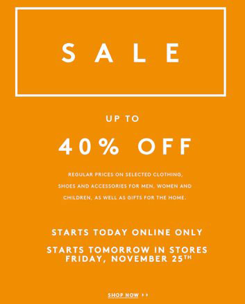 Barneys New York Fall Retail Sale