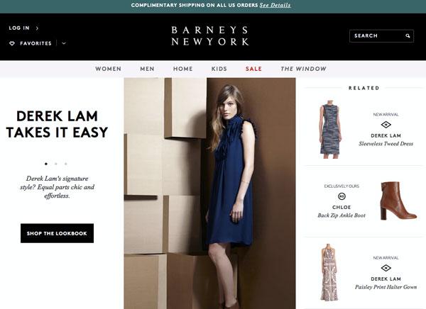 Barneys New York Fall Trends