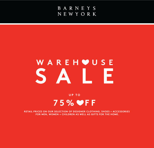 About Barneys Warehouse bibresipa.ga is an ongoing off-price site offering legendary steals on past season sale products, including women's, men's, and children's clothing, shoes, and accessories, plus gifts for the home from Chelsea Passage.