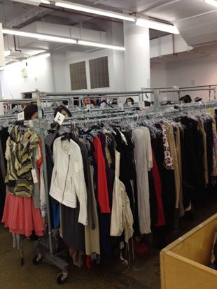 Barneys Warehouse Sale Rack