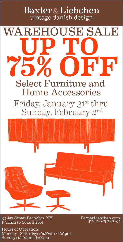 Baxter liebchendanish modern furniture new york for Furniture w sale warehouse