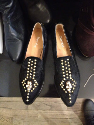 Skull loafers from Beobe ($40, assorted sizes)