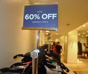 Bergdorf Goodman Department Store Sale