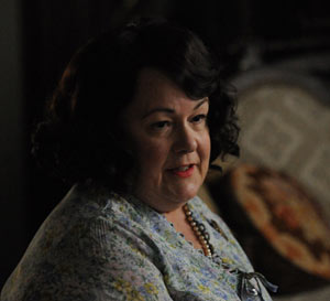 Betty's mother-in-law lecturing her on 'the problem'  Mad Men Season 5. on AMC.