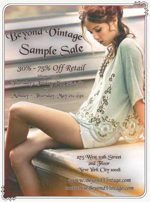 Beyond Vintage Sample Sale