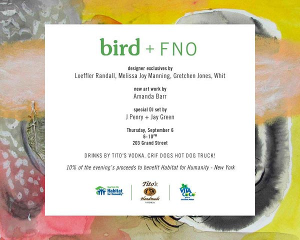 Bird Fashion's Night Out Event