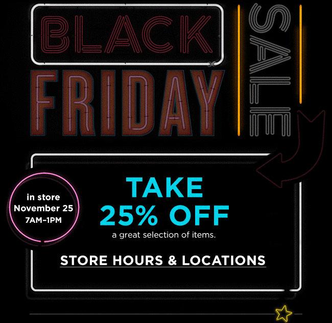 Bloomingdale's Black Friday Sale