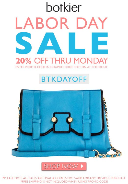 Botkier Labor Day Online Sale