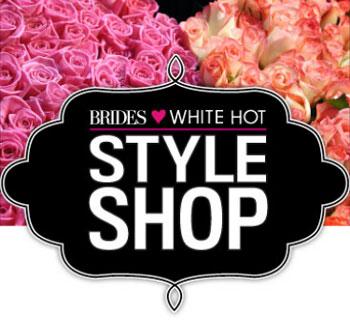 Brides Magazine White Hot Hope Pop-up Shop: 10/13 - 10/16