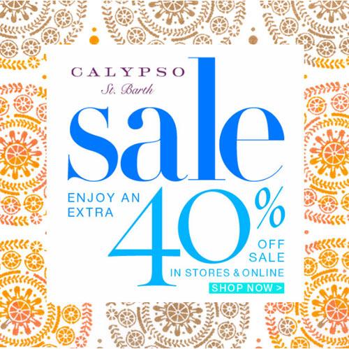 Calypso St. Barth Spring Sale