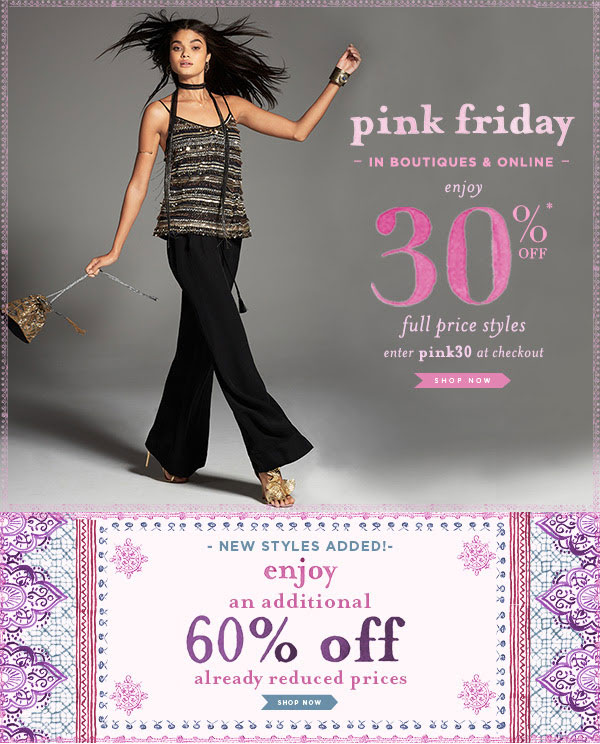 Calypso St. Barth Pink Friday Sale