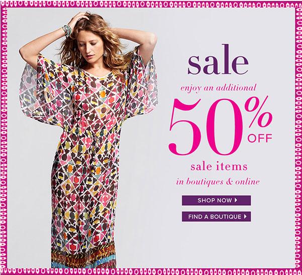 Calypso St. Barth Summer Retail Sale