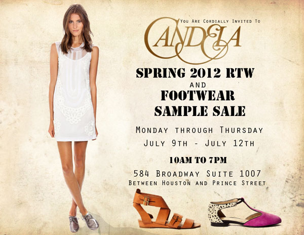 Candela Summer Sample Sale