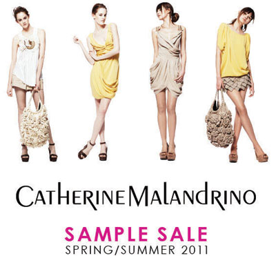 Catherine Malandrino Sample Sale