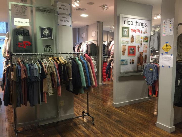 C&C Children's Wear Sample Sale Showroom