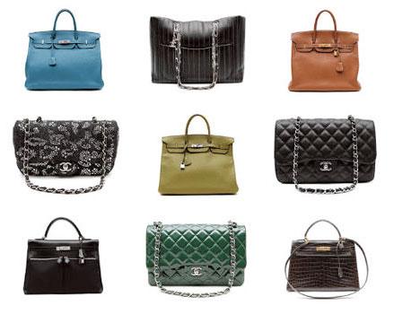 Chanel, Hermes and Louis Vuitton Handbag Sale