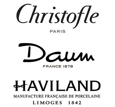 Christofle, Daum, and Haviland Sample Sale