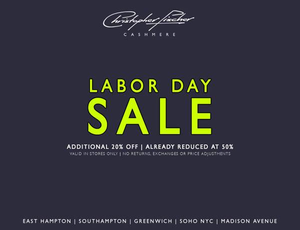 Monday, September 1   Regular Store Hours