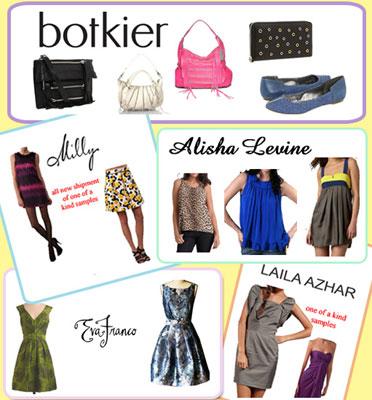 Botkier, Milly, Eva Franco & more Sample Sale