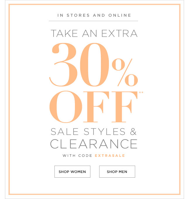 Club Monaco Easter Weekend Sale