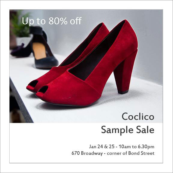 Coclico Sample Sale