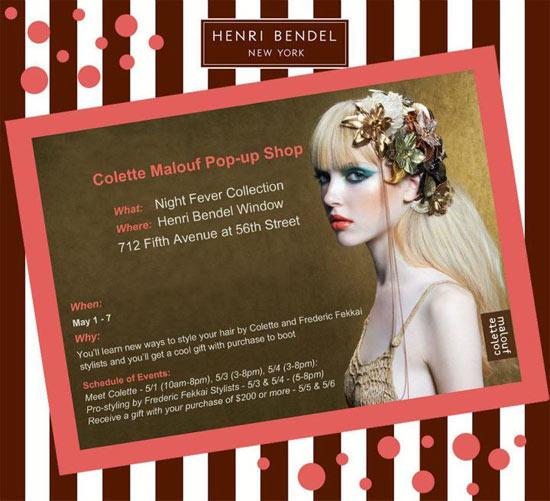 Colette Malouf Pop-up Shop