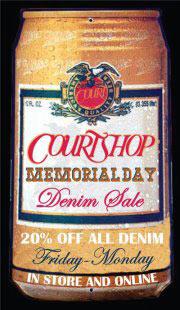 Courtshop Memorial Day Denim Sale