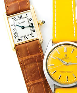 Most Coveted Timepieces: Cartier, Rolex, Chopard, & more