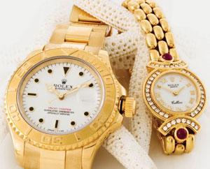 Rolex, Cartier & more