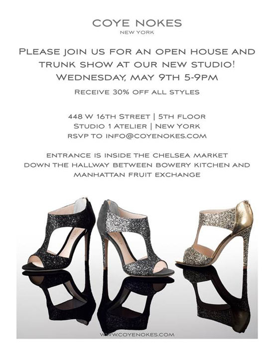 Coye Nokes' SS12 Trunk Show