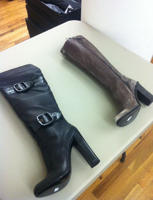 Boots at the CP Fashion Group Sample Sale